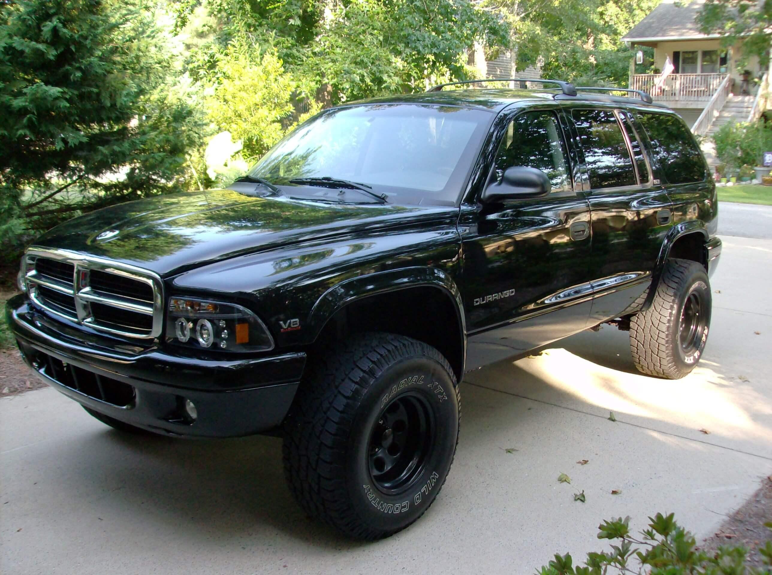 Ken S 2002 Dodge Durango Holley My Garage