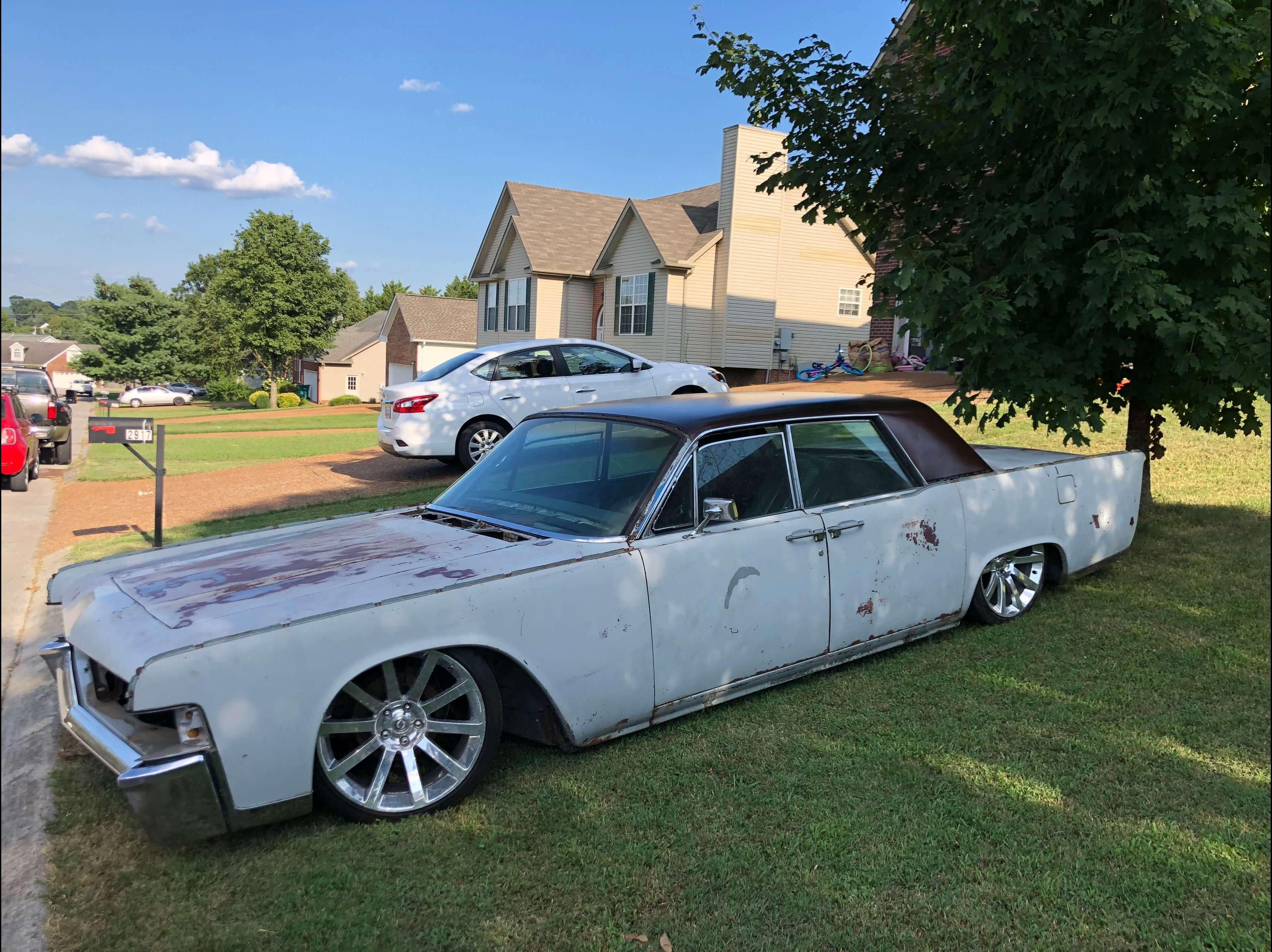 Roy S 1965 Lincoln Continental Holley My Garage