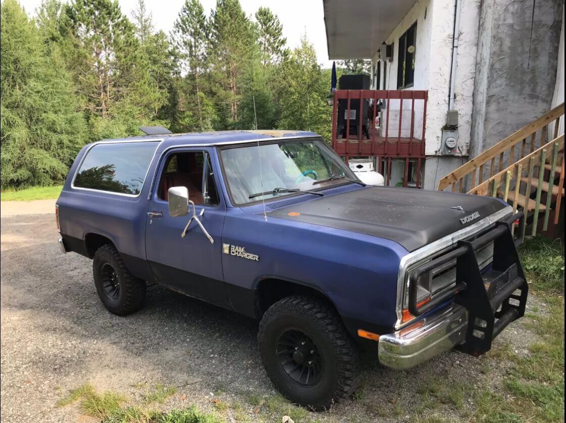 Jojo S 1986 Dodge Ramcharger Holley My Garage