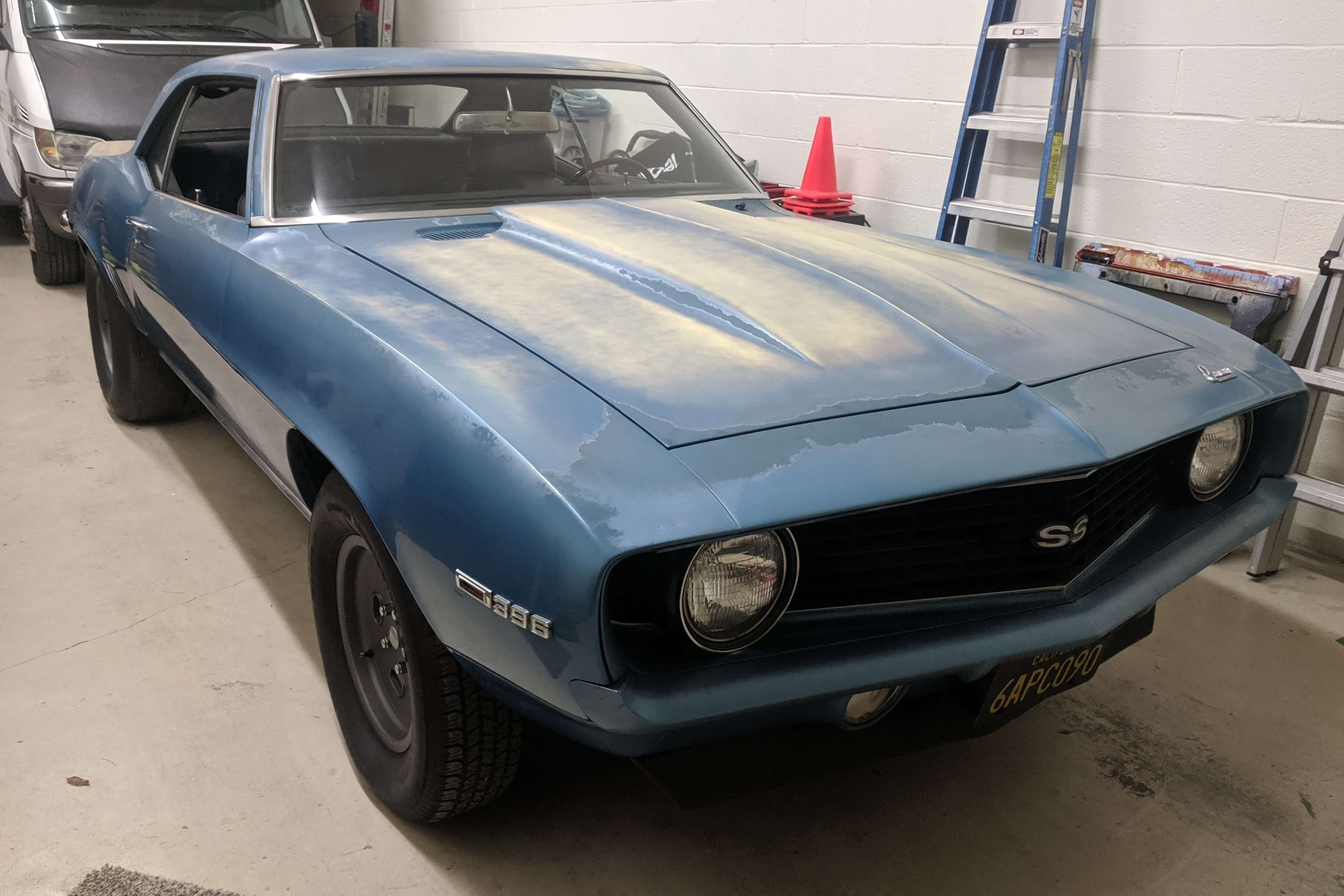 Scott's 1969 Chevrolet Camaro - Holley My Garage