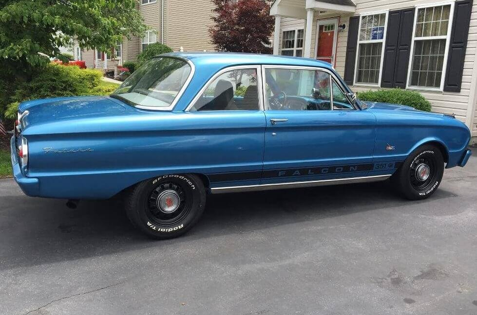 Bob's 1962 Ford Falcon - Holley My Garage