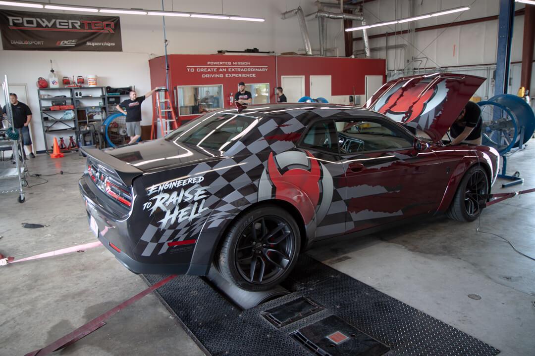 Matt S 2019 Dodge Challenger Holley My Garage