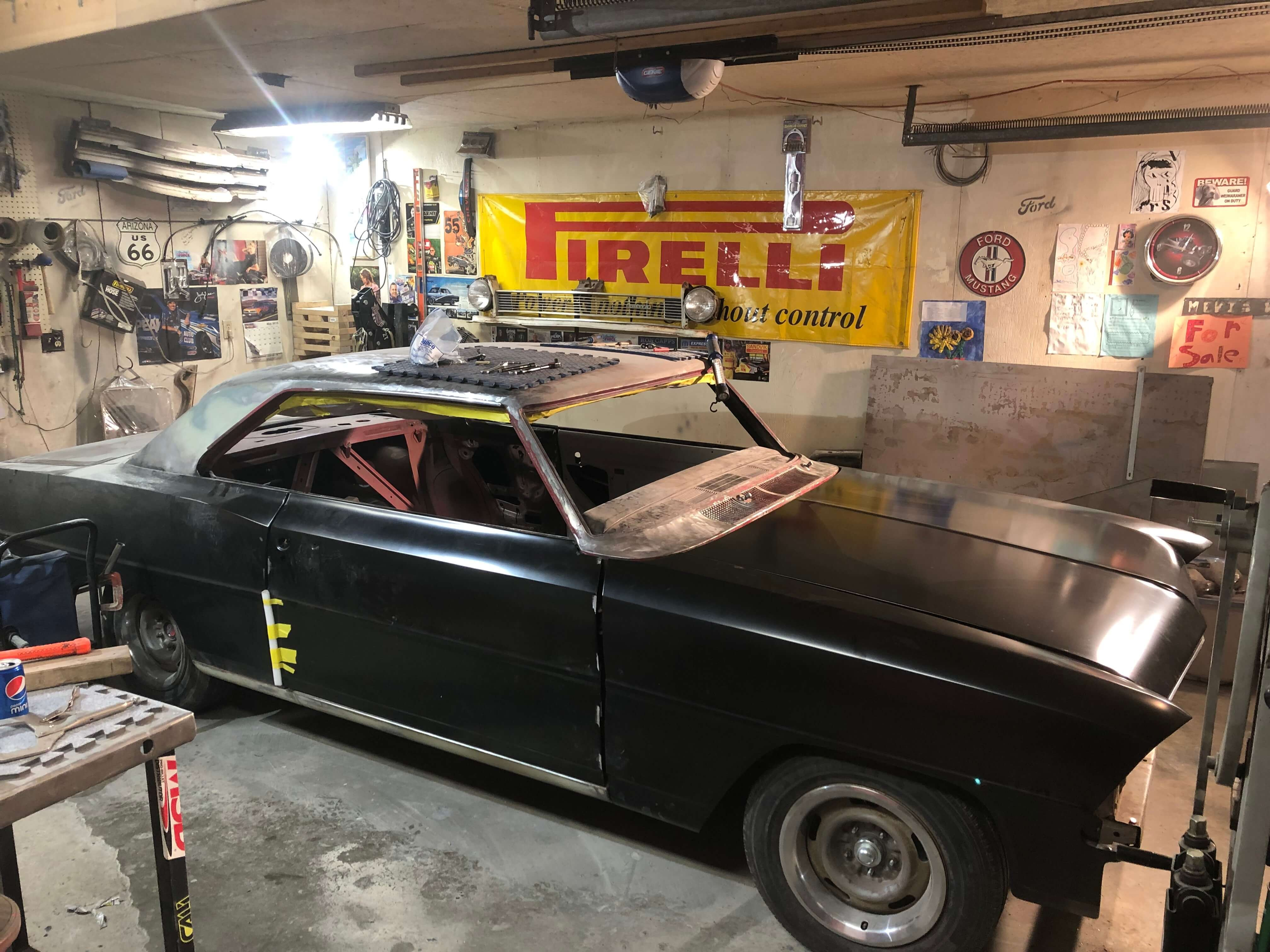 Al's 1967 Chevrolet Chevy II - Holley My Garage