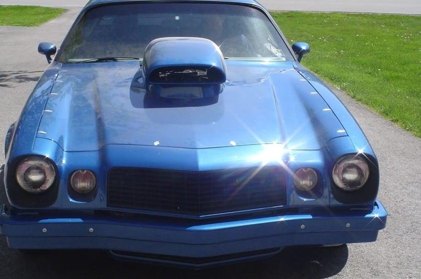Brian's 1974 Chevrolet Camaro - Holley My Garage