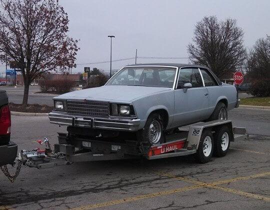 keith's 1979 Chevrolet Malibu - Holley My Garage