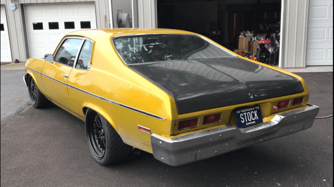 Dustin's 1973 Chevrolet Nova - Holley My Garage
