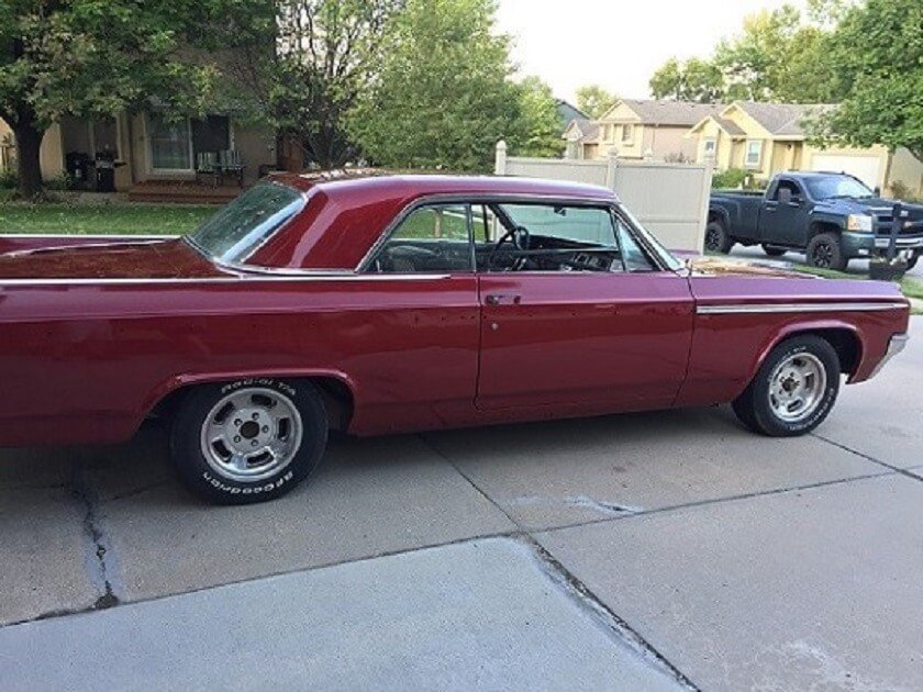 Mike S 1963 Oldsmobile 98 Holley My Garage