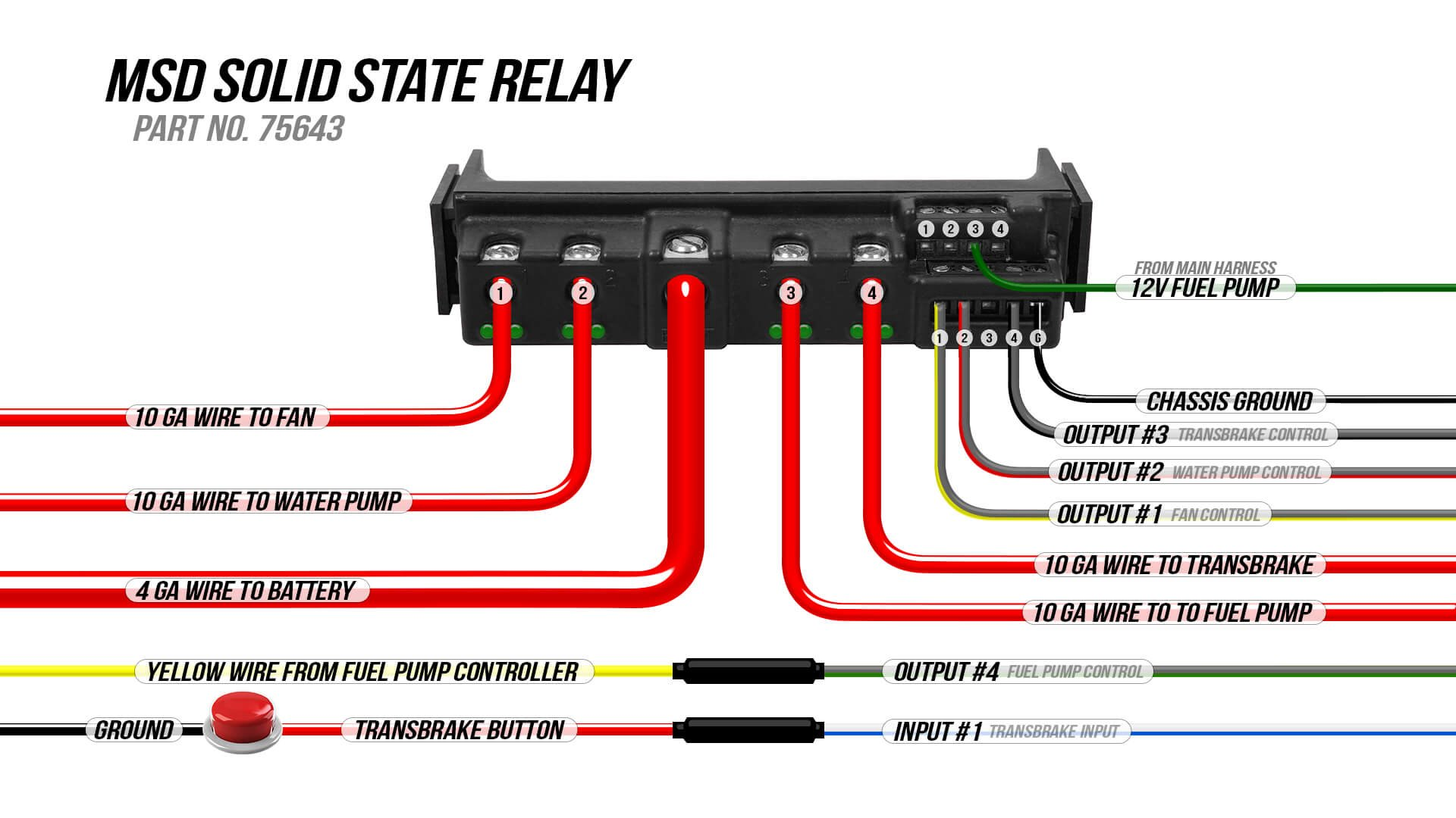Wiring Diagram  Msd Solid State Relay