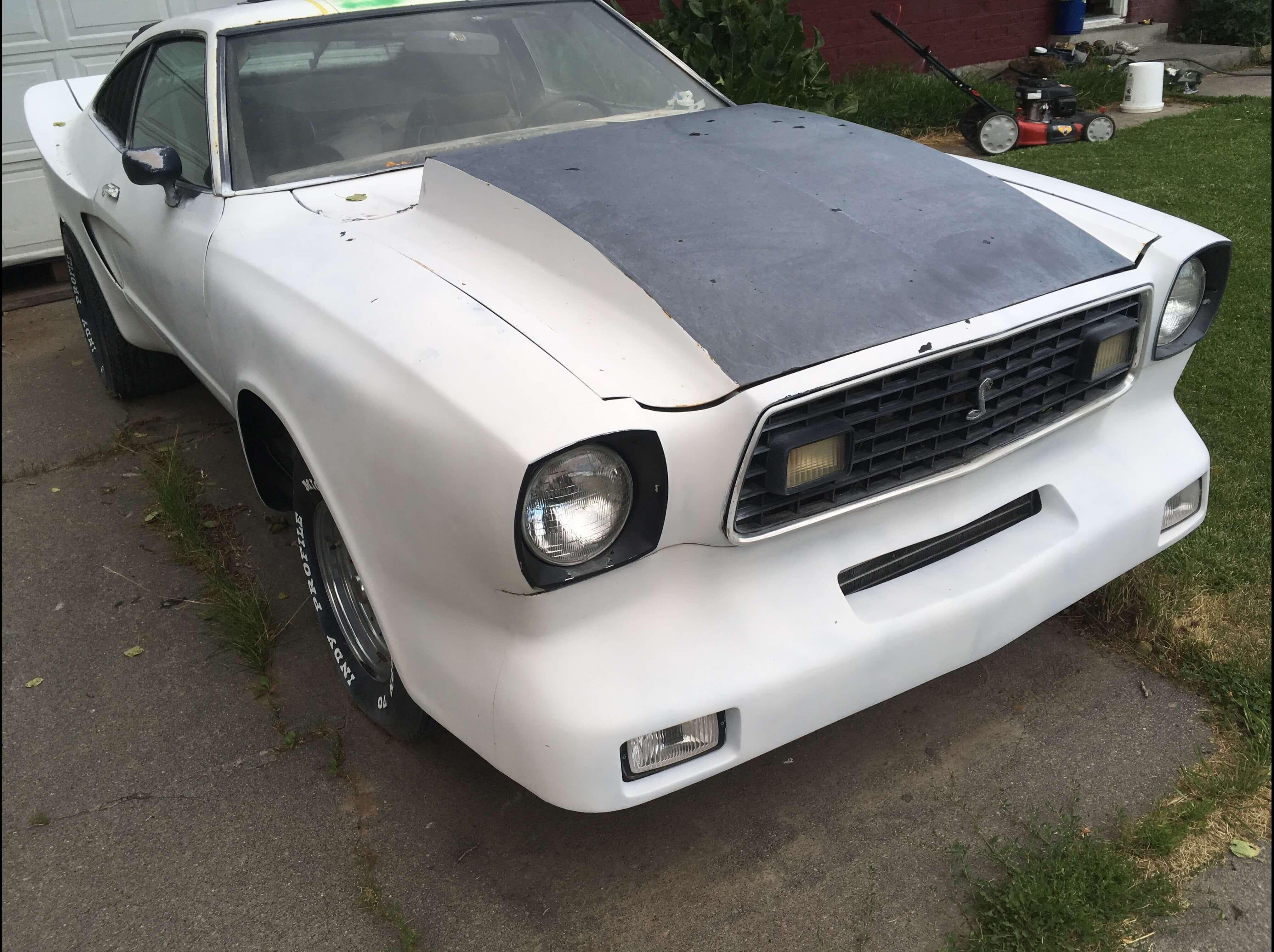 Allan's 1978 Ford Monroe Handler Mustang II - Holley My Garage