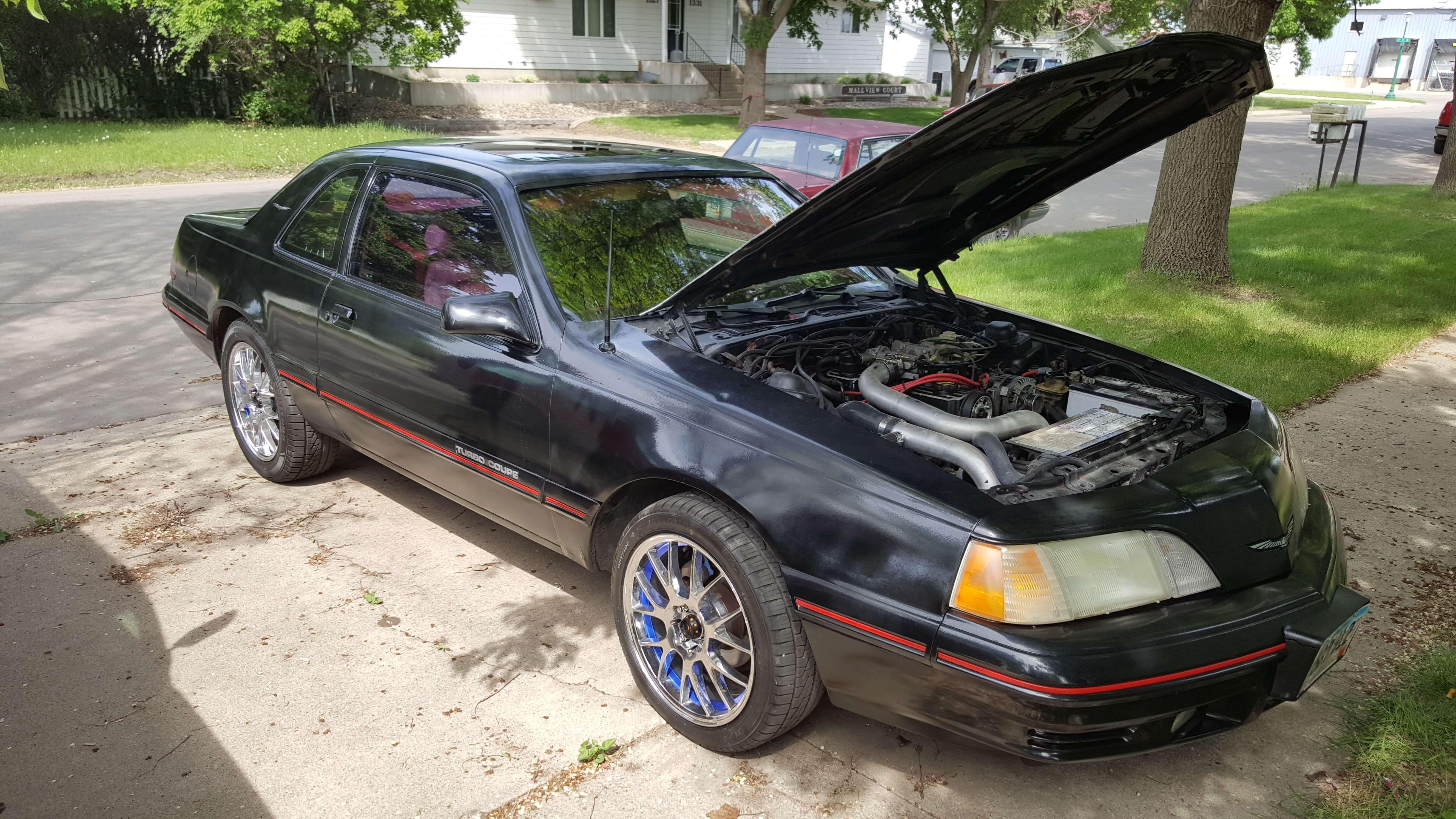 rusty s 1988 ford thunderbird holley my garage holley