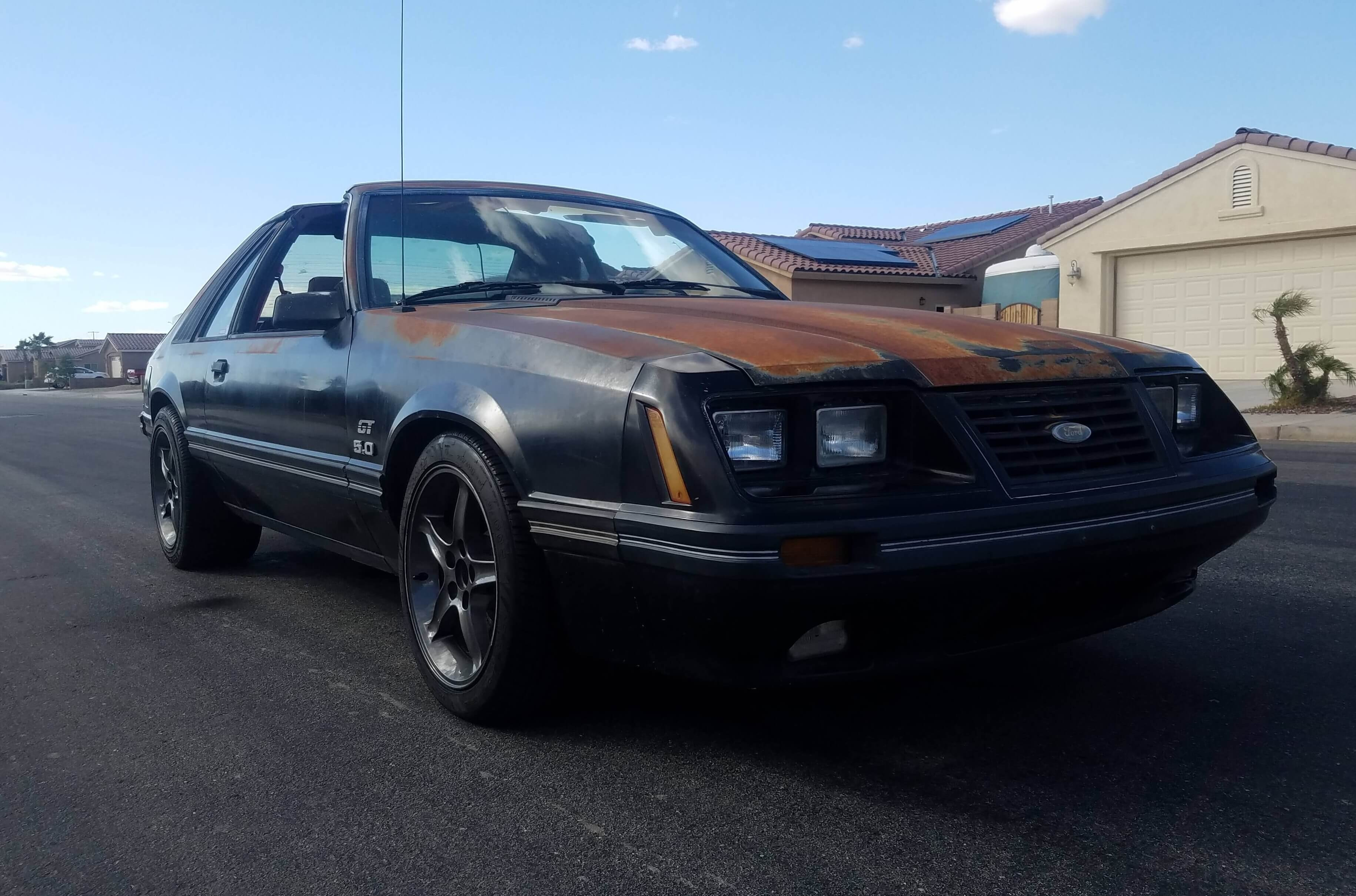 Nelson's 1984 Ford Mustang - Holley My Garage