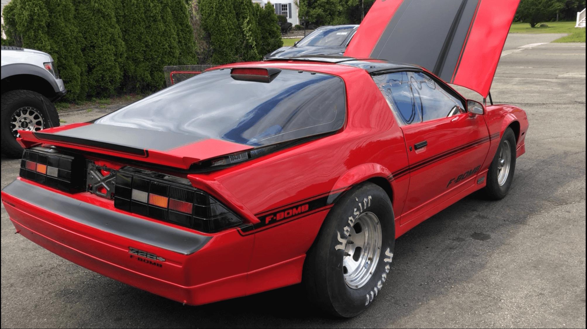 Victor S 1986 Chevy Camaro Holley My Garage