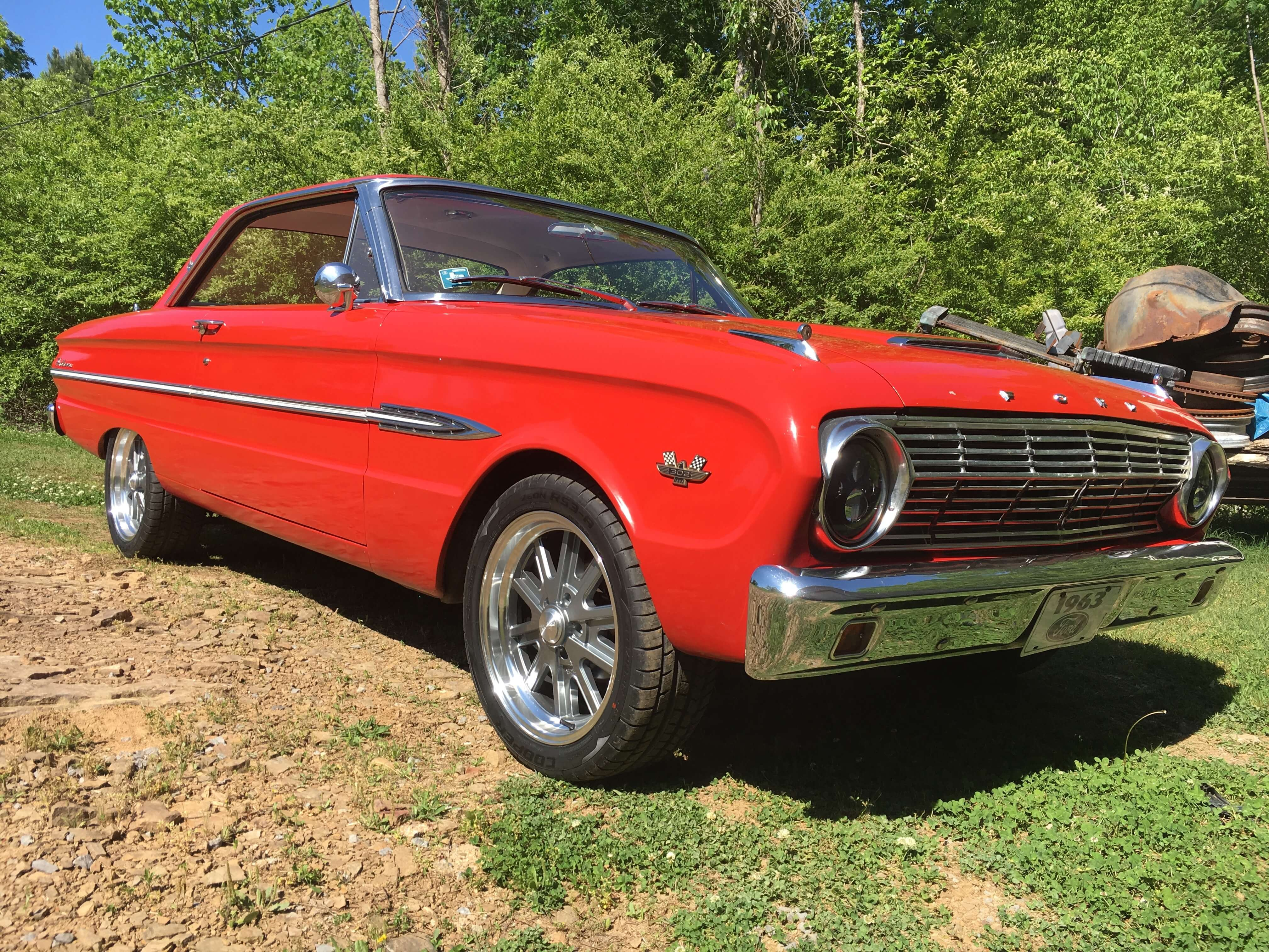Ed's 1963 Ford Falcon - Holley My Garage